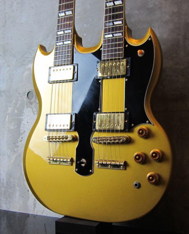 画像1: Gibson USA  Custom Shop EDS-1275 / Metallic Gold