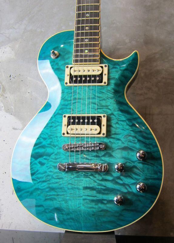画像1: GMP Guitars Pawnshop Deluxe / Aqua Burst