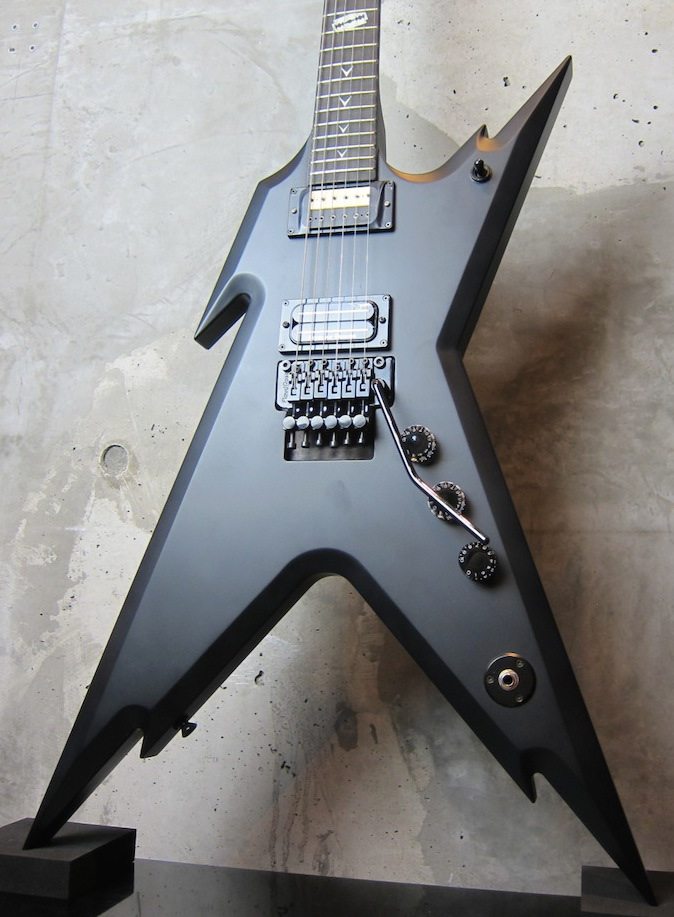 画像1: DEAN USA Dimebag Razorback Limited 4 Matte Black ☆期間限定 通販大特価¥498,000-⇒⇒⇒ ¥ 360,000-!!!!