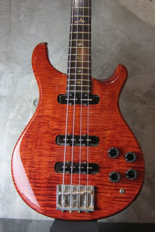 画像1: Paul Reed Smith 1986 Proto Type Bass /  Tortoise Shell