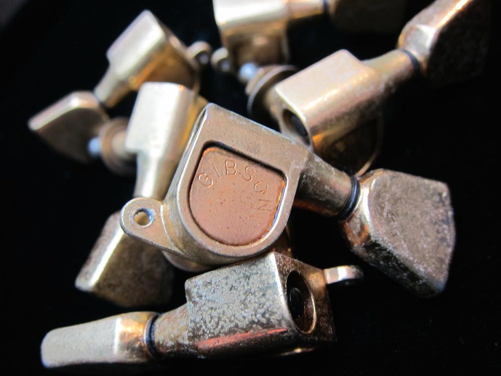 画像1: Gibson 70's Vintage Tuners Gold  for Les Paul Custom