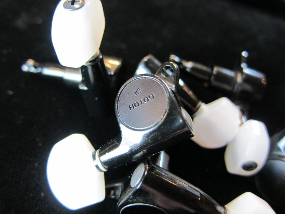 画像1: GOTOH SG503 mini Tuning Machines BLK /  Perloid Button / Jake E Lee / NOS