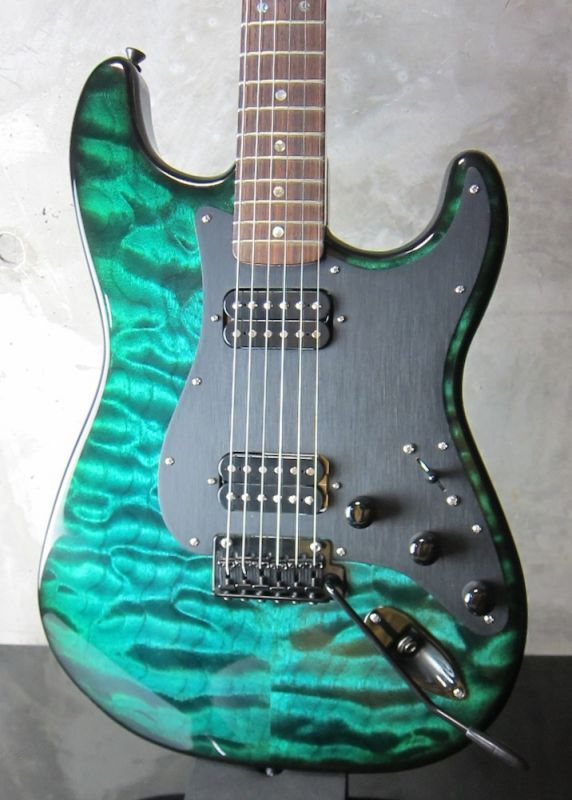 画像1: RS Guitarworks Old Friend Contour Hot Rod (Elite) / Ocean Burst