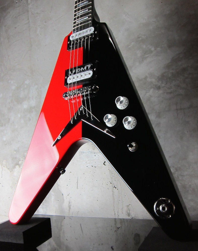 画像1: Dean USA Limited Edition Michael Schenker Flying V Red / Black