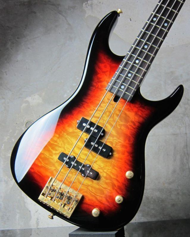 画像1: Valley Arts Custom Pro USA Bass / Sunburst