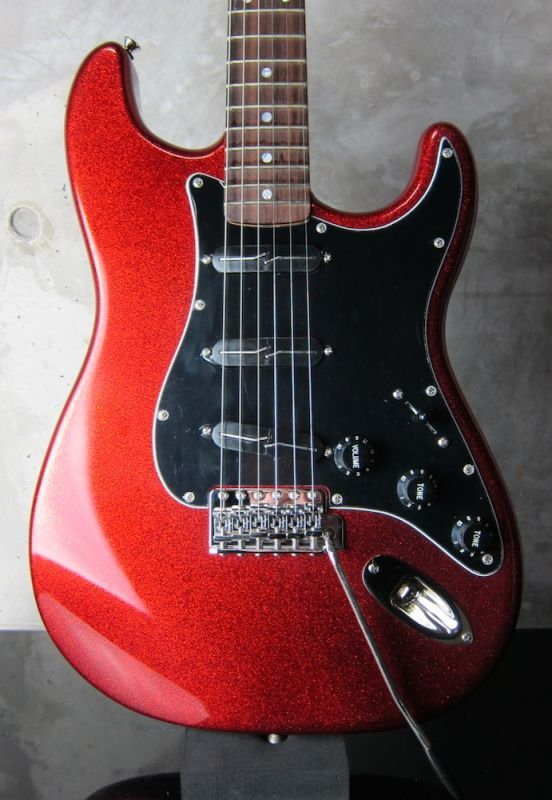 画像1: RS Guitarworks Contour Custom / Red Sparkle