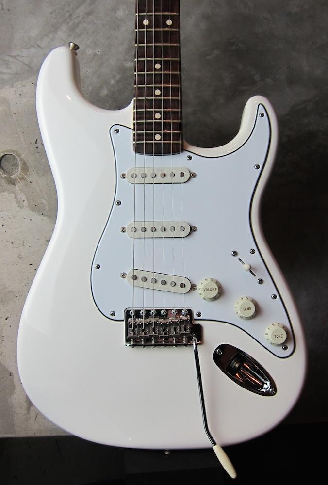 画像1: Davis Custom Guitars Yngwie Malmsteen Scalloped Stratocaster / Olympic White