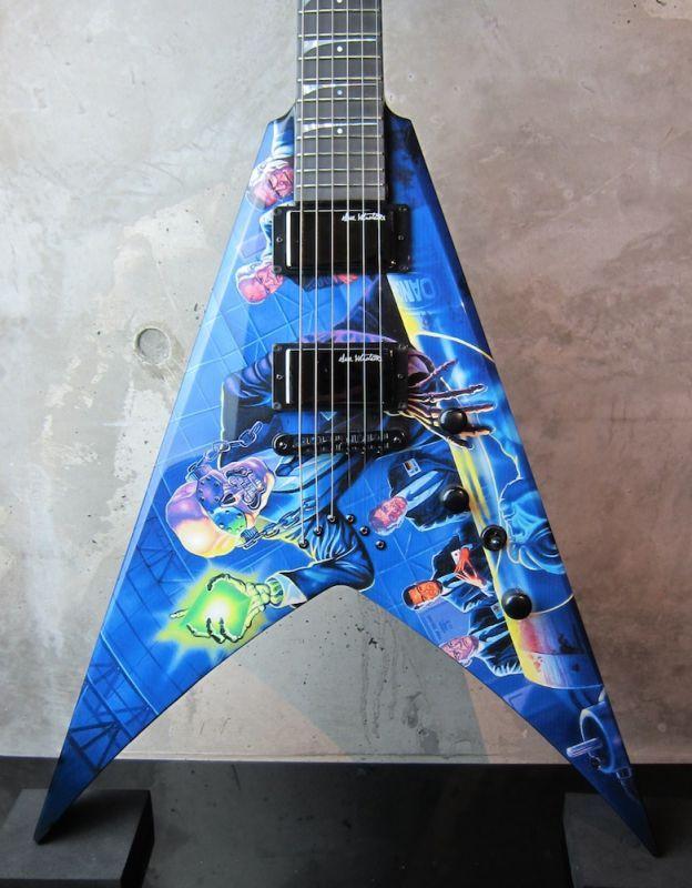 画像1: DEAN USA Custom Shop Dave Mustaine VMNT RUST IN PEACE GRAPHIC  NAMM SHOW
