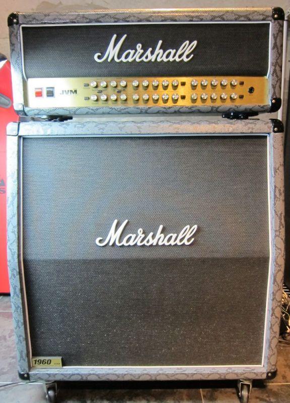 画像1: Marshall JVM410H Amp Head & Cabinet  Snake Skin