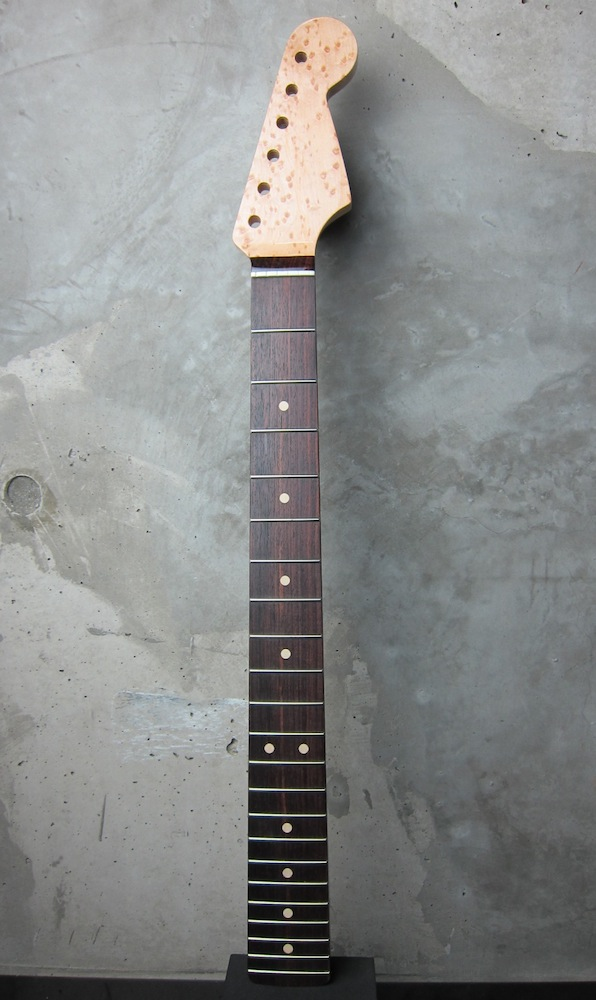 画像1: Warmoth Stratocaster Neck 22F Birdseye Maple  / Indian   Rosewood