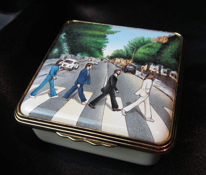 画像1: Halcyon Days Enamels The Beatles Abbey Road Limited 250