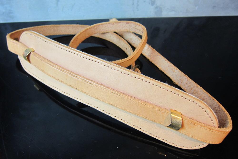 画像1: Gibson Custom Shop / Genuine Leather Strap GV99