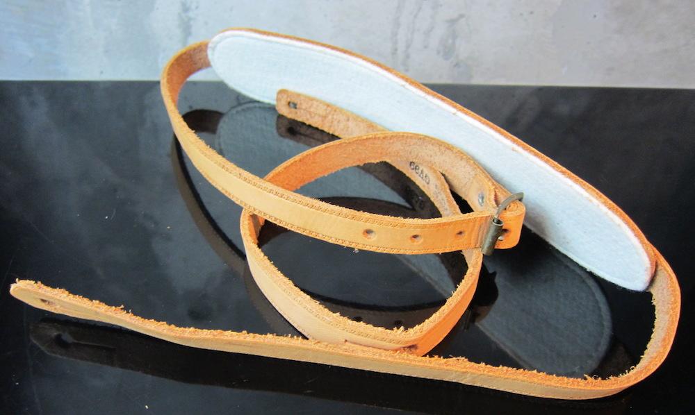 画像2: Gibson Custom Shop / Genuine Leather Strap GV99