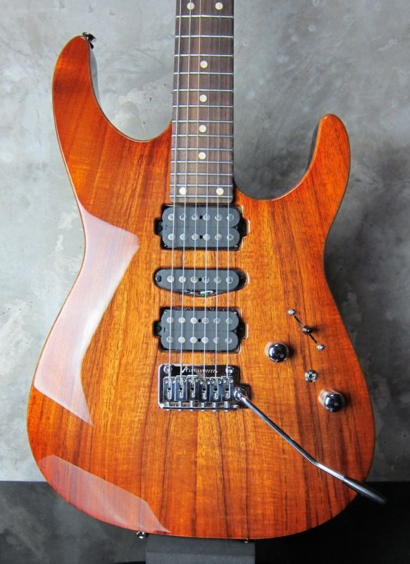 "画像1: Tom Anderson Angel ""KOA"" /  Honey Shaded Edge with Binding"