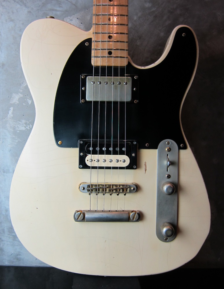 画像1: RS Guitarworks Slab Workhorse White Relic