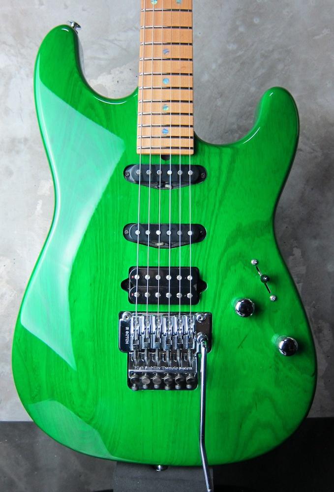 画像1: Suhr Classic Trans Green