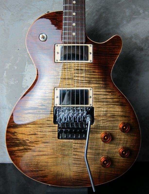 画像1: Tom Anderson Bulldog Locker Light Tiger Eye Burst with Binding