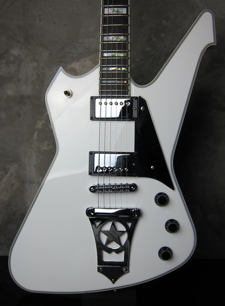 画像1: Washburn PS2000 White / Paul Stanley Signature Model