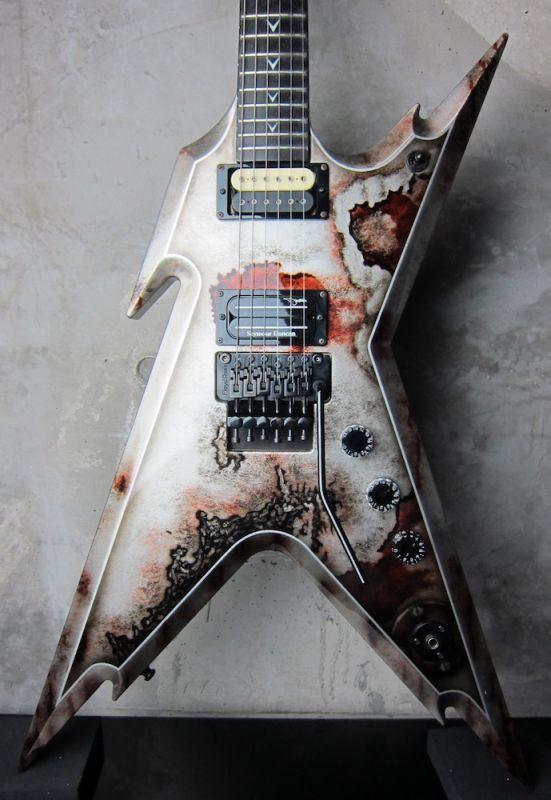 画像1: DEAN USA Dimebag Darrell Tribute Razorback Rust / 2007