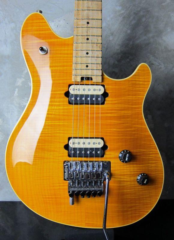 画像1: Peavey USA EVH Wolfgang Standard Flame Maple Trans Amber