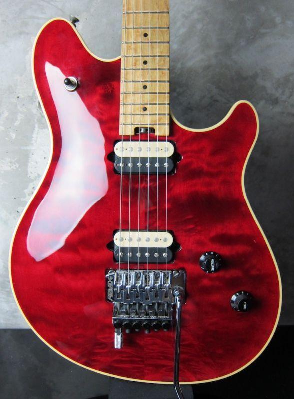 画像1: Peavey USA EVH Wolfgang Standard Trans Red