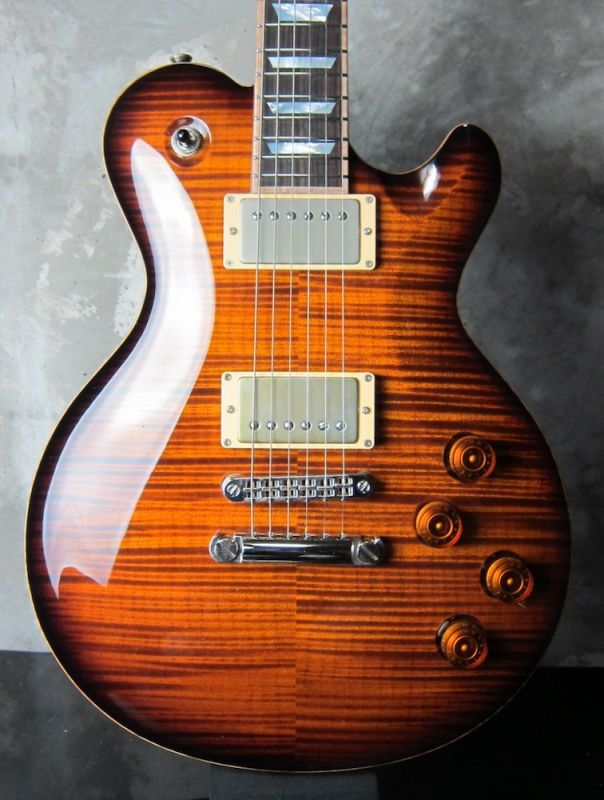 画像1: David Thomas McNaught Vintage Single Cut /  Diamond Flame Antique Burst