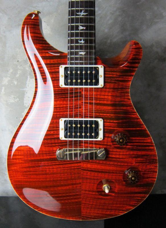画像1: PRS Custom 22 /  Fire Red / Private Stock