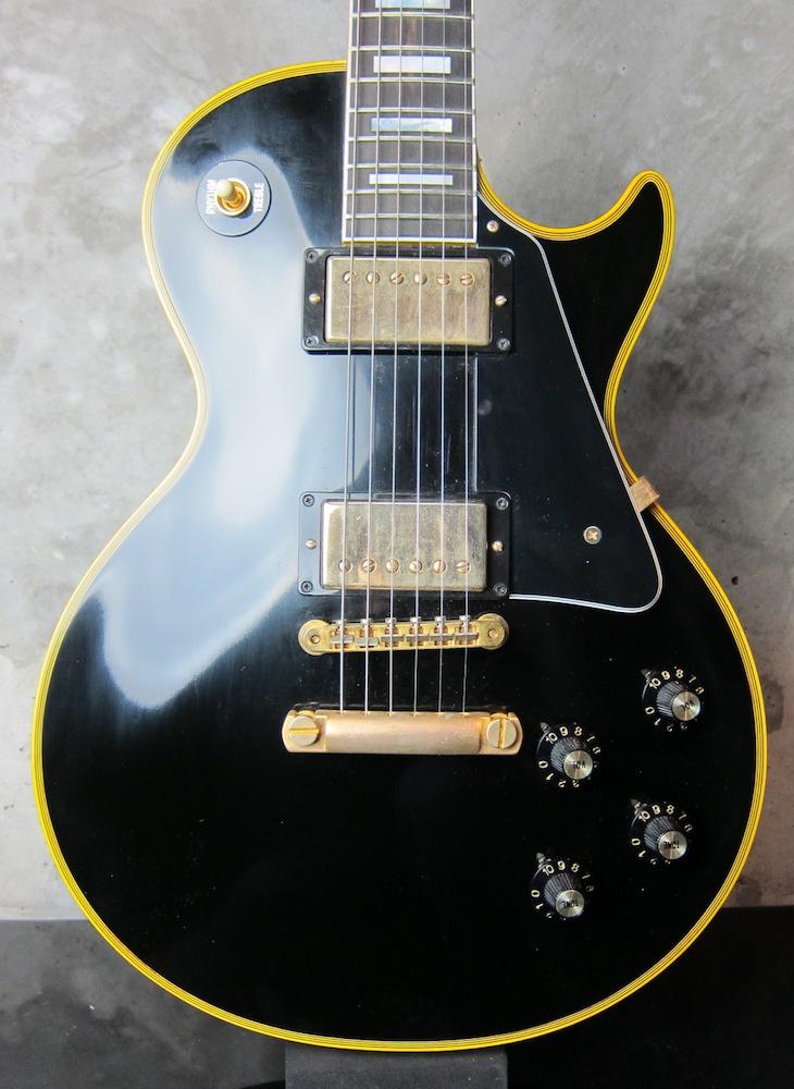 画像1: Gibson Custom Shop Les Paul Custom VOS Ebony Black Historic Collection