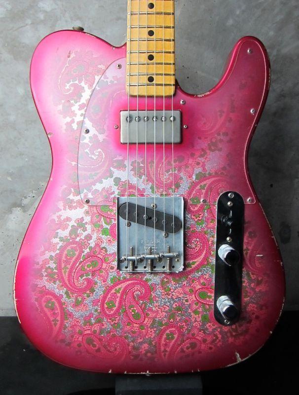 画像1: Fender Custom Shop 68 Telecaster Relic Pink Paisley / Masterbuilt by Jason Smith