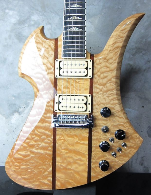 画像1: B.C. Rich Mockingbird Supreme Natural Quilt Maple