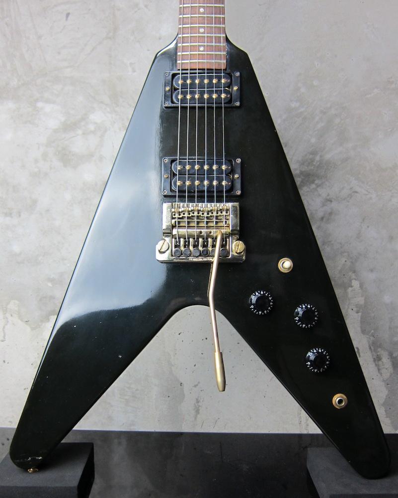 画像1: Gibson Flying V Kahler Tremolo Dirty Fingers 1985