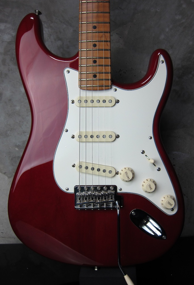 画像1: Fender Custom Shop 40th Anniversary TBC 1958 Stratocaster NOS / Bing Cherry Trans