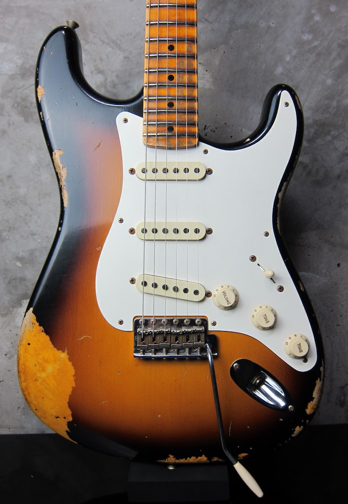 画像1: Fender Custom Shop 1957 Stratocaster Heavy Relic / Sunburst