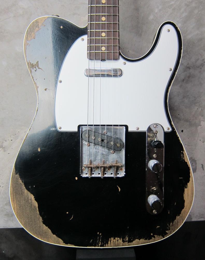 画像1: Fender Custom Shop 1960 Telecaster Custom Heavy Relic / Black
