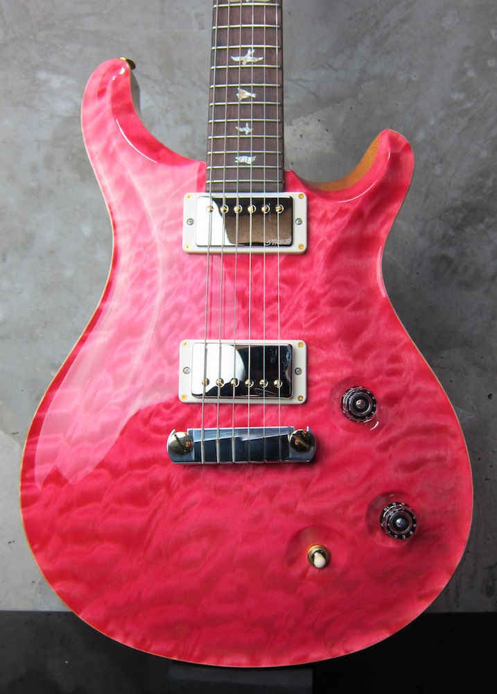 "画像1: Paul Reed Smith ""Artist Package"" McCarty Bonnie Pink / Brazilian Rosewood FB & 1 pc Quilted Maple Top"
