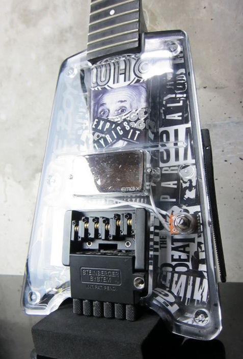 画像1: Steinberger Repair 修理 / Custom / オリジナルパーツ / 加工 / 製作/お気軽にご相談下さい。