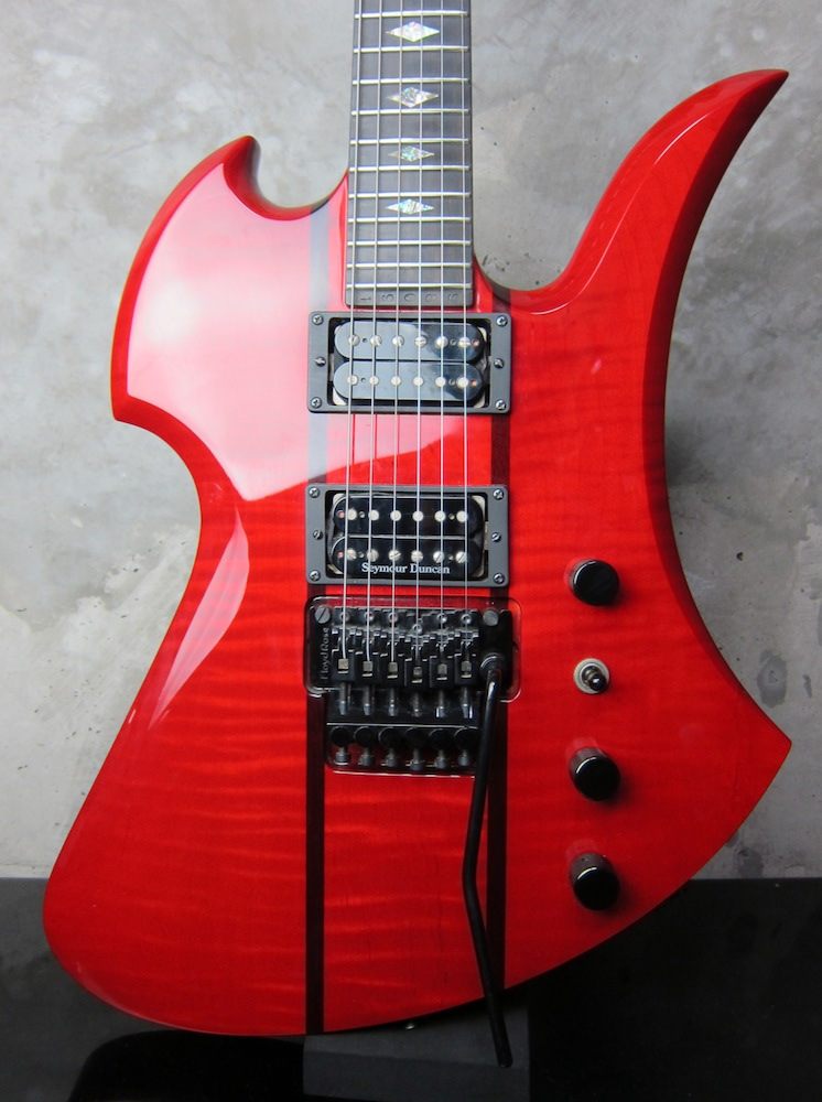画像1: B.C. Rich Mockingbird Slash Trans Red / USED