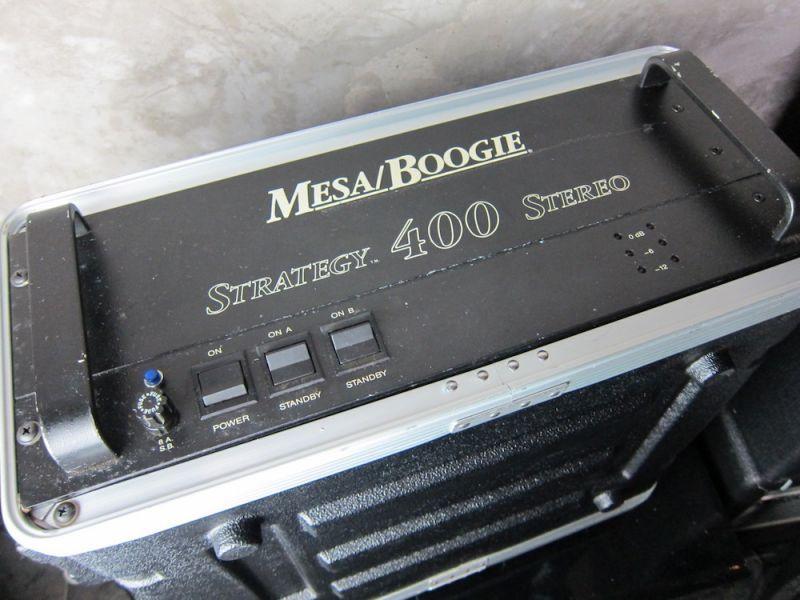 画像3: Mesa /Boogie Strategy 400 Power Amp