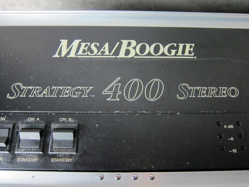 画像2: Mesa /Boogie Strategy 400 Power Amp