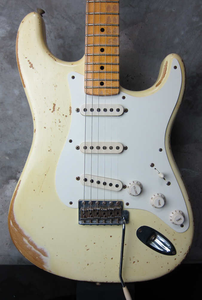 画像1: Fender Custom Shop1957 Stratocaster Relic Olympic White  : II