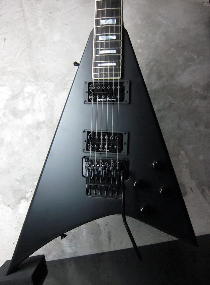 画像1: Jackson USA Custom Shop Randy Rhoads RR1.5 Matte Black
