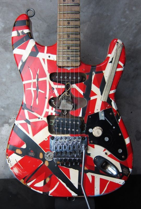 画像1: EVH Limited Frankenstein Replica 2007