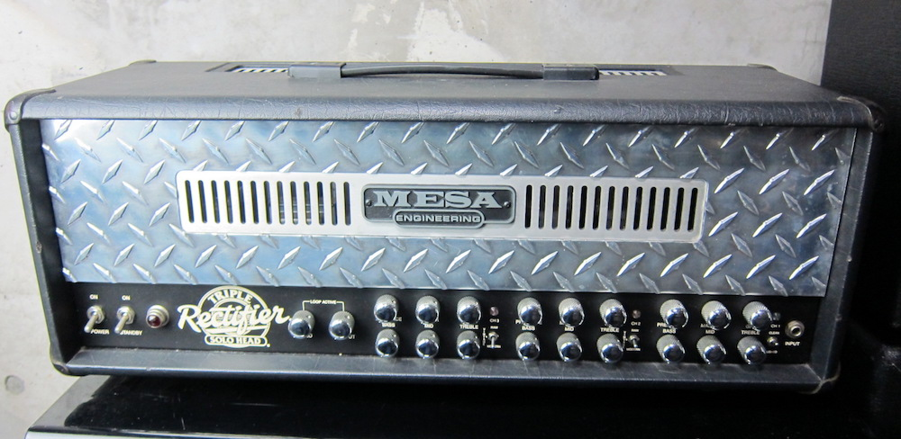 画像1: Mesa/Boogie Triple Rectifier Solo Head w/ Big Foot