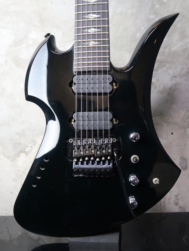 画像1: B.C. Rich Mockingbird 7-String Black