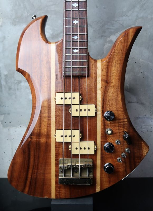 "画像1: B.C. Rich Mockingbird Bass ""KOA"""