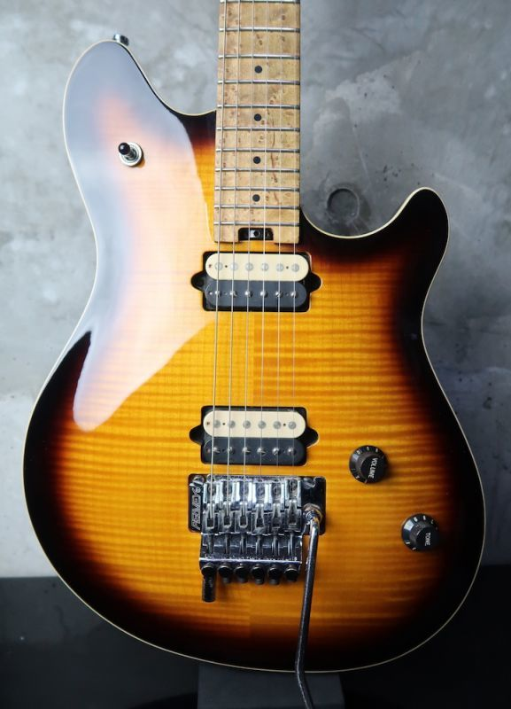 画像1: Peavey USA Wolfgang Tobacco Sunburst Flame Maple