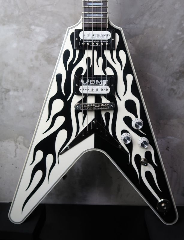 画像1: Dean USA Michael Schenker Flames V 100 Limited