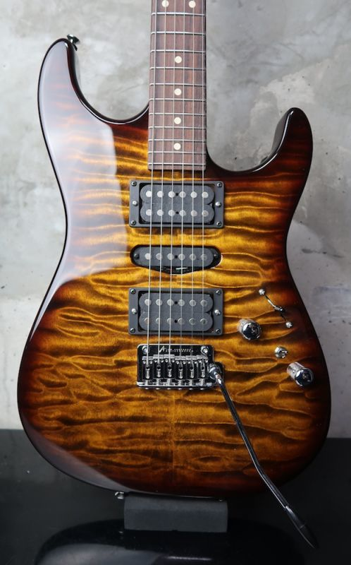 画像1: Tom Anderson Drop Top Tiger Eye Burst