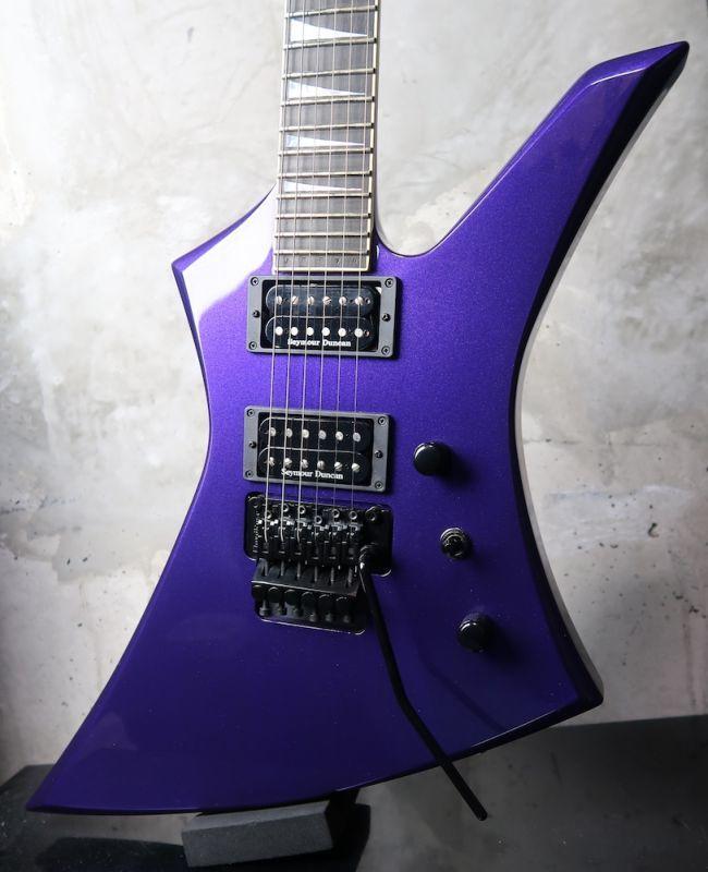 画像1: Jackson USA Custom Shop Kelly KE2 Pavo Purple