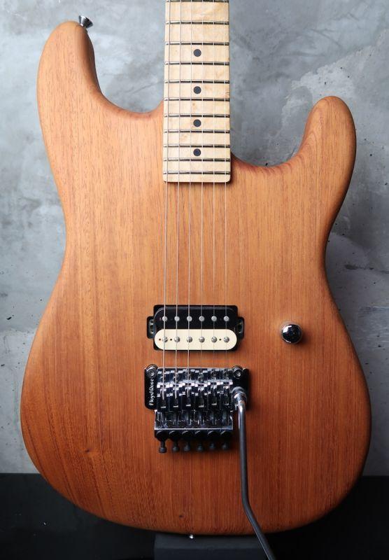 画像1: Wayne Guitars Rock Legend Natural